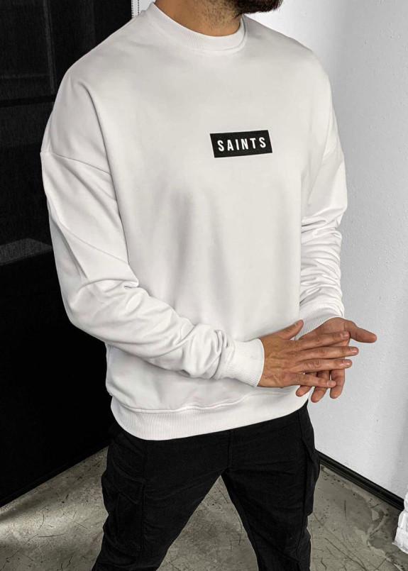 Изображение Свитшот белый Saints MFStore