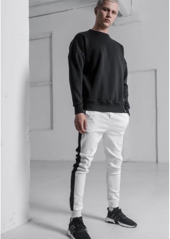 Изображение Свитшот мужской OVERSIZE на флисе черный