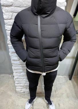 Изображение Куртка укороченная с матовой черной молнией MFStore