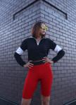 Изображение Велосипедки женские красные Джин Tur streetwear
