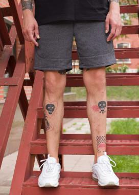 Изображение Шорты мужские темно-серые Сэм Tur streetwear