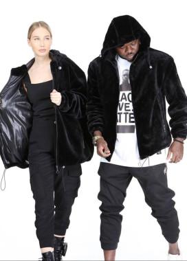 Изображение Утепленная велюровая куртка MFStore