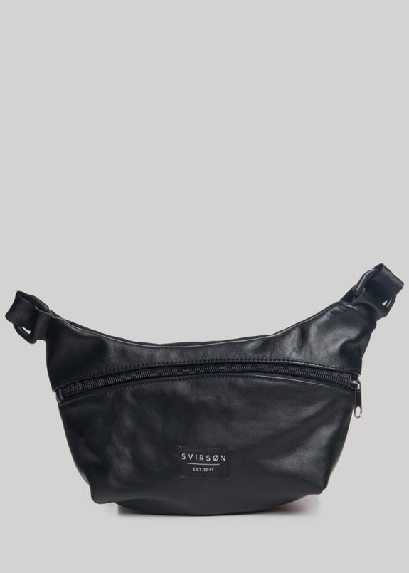 Изображение Сумка на пояс Hip Pack 01 Leather Black