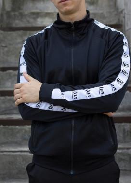 Изображение Мастерка олимпийка мужская черная Смоук Tur streetwear