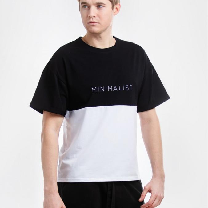 Изображение Футболка мужская minimalist Street style