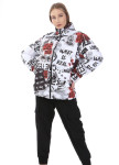Изображение Короткая женская матовая куртка What is real Mfstore