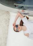 Изображение Шорты-юбка с высокой посадкой