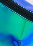 Изображение Неоновая бананка на пояс голограмма синего цвета