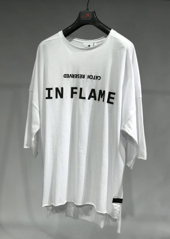 Изображение Футболка белая IN FLAME MFStore