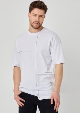 Изображение Асимметричная футболка с шовом MFStore