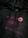 Изображение Худи мужское Vice City Oversized Black Hood