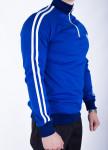 Изображение Мужская олимпийка синяя с полосами Mars Tur streetwear