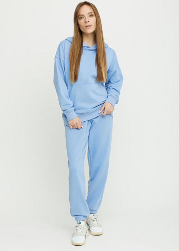 Изображение Голубой женский костюм