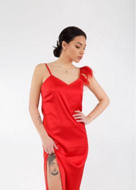 Изображение Платье PHOENIX Bloody Red красное She Black Limit