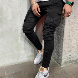 Изображение Джинсы с накладними карманами сверху Mfstore