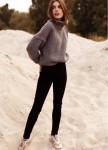 Изображение Свитер женский OVERSIZE CROP - серый