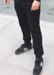 Изображение Спортивные утепленные штаны чёрного цвета