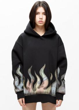 Изображение Худи женское с рефлективным огнем