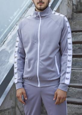 Изображение Мастерка олимпийка мужская серая Смоук Tur streetwear