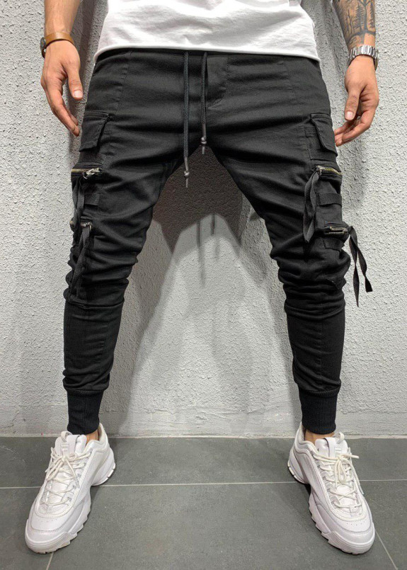 Изображение Джоггеры с карманами на резинке MFStore