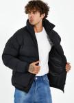 Изображение Куртка мужская с накладными карманами черная MFStore