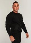 Изображение Свитшот мужской черный модель Такеда