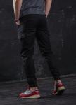 Изображение Брюки карго мужские черные  Инк