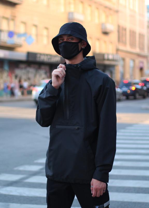 Изображение Анорак мужской черный Шадоу
