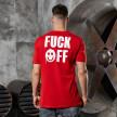 Изображение Футболка fuck off красный MFStore