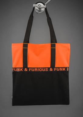Изображение Шоппер FUNK & FURIOUS оранжевый