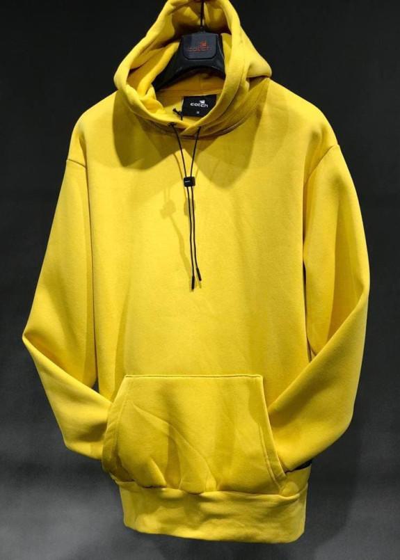 Изображение Худи оверсайз базовое желтое MFStore