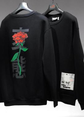 Изображение Кофта с розой на спине MFStore
